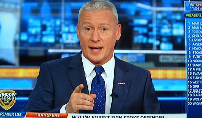 Jim White Sky Sports