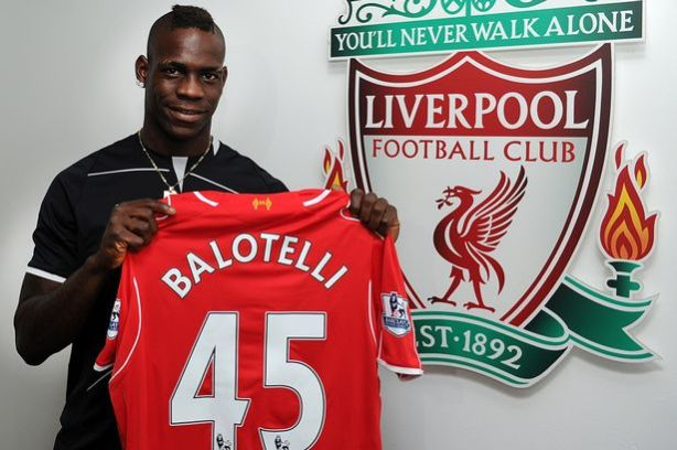 Mario Balotelli signs for Liverpool
