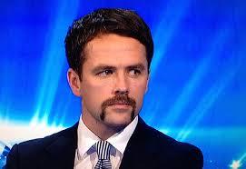 Michael Owen that mustache is unreal