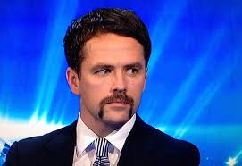 Michael Owen that mustache is unreal