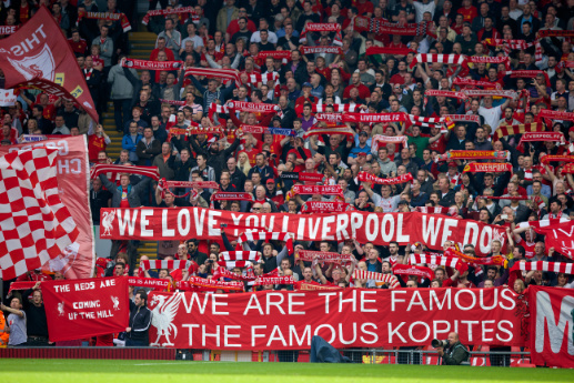 The Kop of Liverpool FC