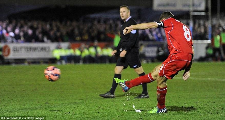 Goal scoring master-class from Gerrard
