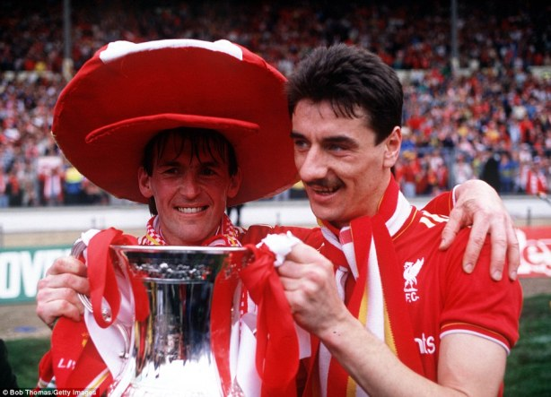 Kenny and Rushy 1989 Cup Winners