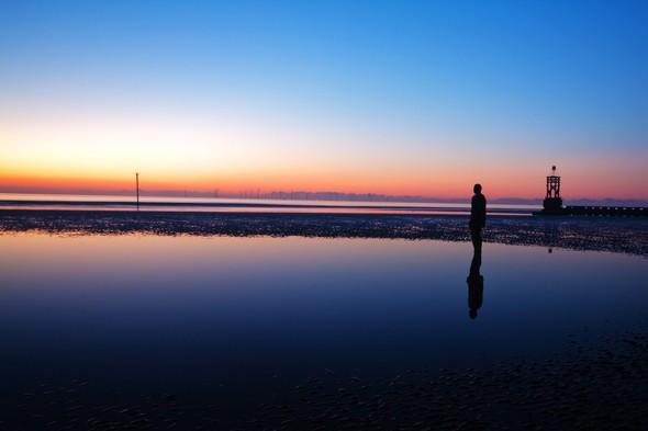sunsetcrosby-beach--shutterstock