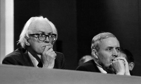'Old Labour' Tony Benn and Michael Foot
