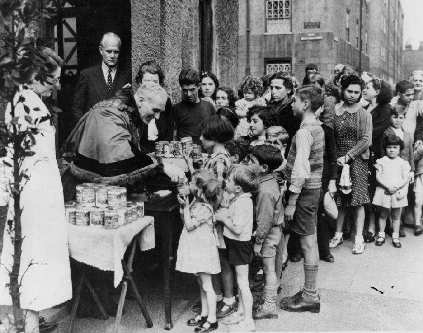 Maltese refugees in Britain World War Two