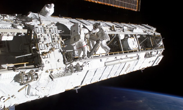 ISS_Truss_structure