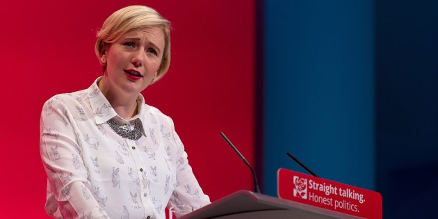 "BRIGHTON, ENGLAND - SEPTEMBER 29: MP for Walthamstow Stella Creasy speaks to delegates during a session entitled ""Living Standards and Sustainability"" during the third day of the Labour Party Autumn Conference on September 29, 2015 in Brighton, England. The four day annual Labour Party Conference takes place in Brighton and is expected to attract thousands of delegates with keynote speeches from influential politicians and over 500 fringe events. (Photo by Ben Pruchnie/Getty Images)"