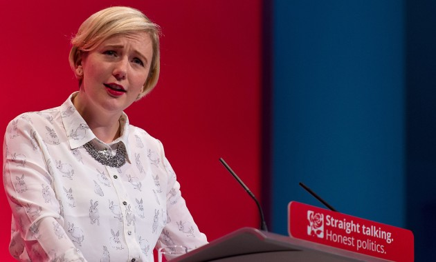 """BRIGHTON, ENGLAND - SEPTEMBER 29: MP for Walthamstow Stella Creasy speaks to delegates during a session entitled """"Living Standards and Sustainability"""" during the third day of the Labour Party Autumn Conference on September 29, 2015 in Brighton, England. The four day annual Labour Party Conference takes place in Brighton and is expected to attract thousands of delegates with keynote speeches from influential politicians and over 500 fringe events. (Photo by Ben Pruchnie/Getty Images)"""