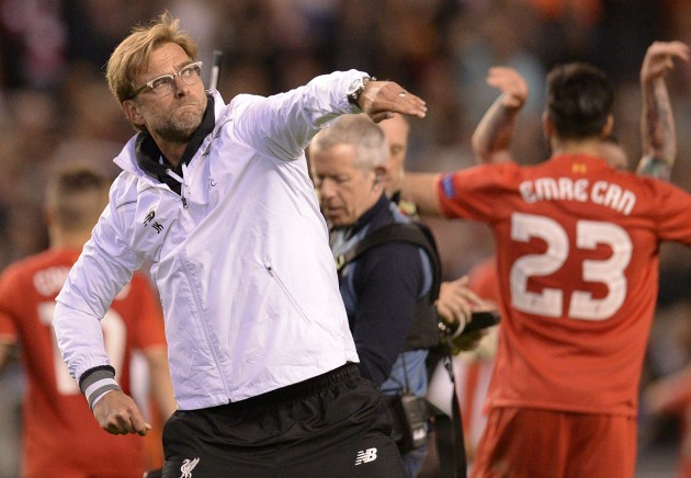 kloppcelebration