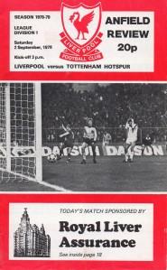 10 2-9-1978 Tottenham Hotspur(h)