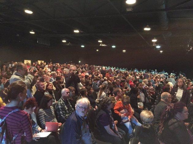 Mass Meeting in Leeds