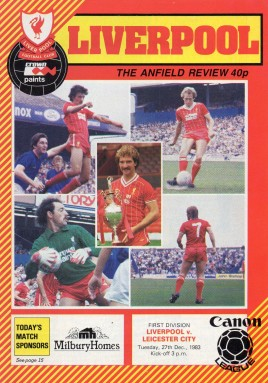 38    27-12-1983 Leicester City(h)